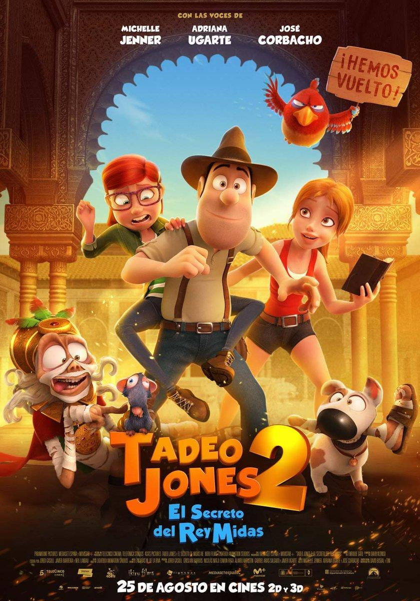 cartelera de cines de Elche - TADEO JONES 2: EL SECRETODEL REY MIDAS