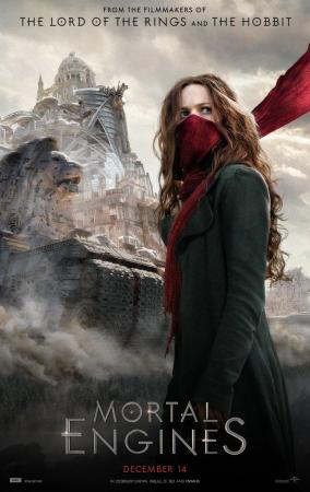 cartelera de cines de Elche - MORTAL ENGINES
