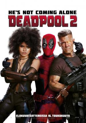 cartelera de cines de Elche - DEADPOOL 2